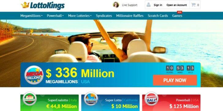 The latest review about LottoKings, online lotto sites reviews