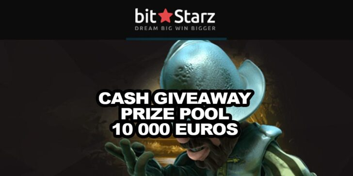 Get Your Share of Weekly Cash Giveaway from the Prize Pool of €10,000