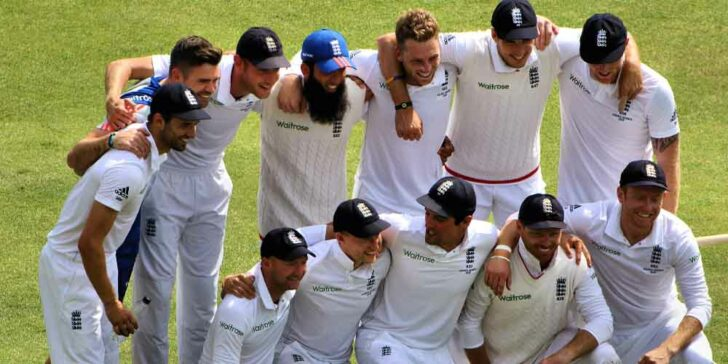 First Test Odds On England