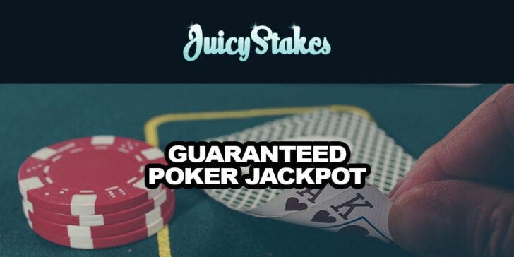 Guaranteed poker jackpot on Sundays