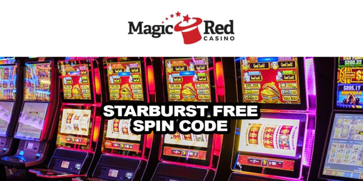 Take Part in Starburst Free Spins Code at Magicred Casino
