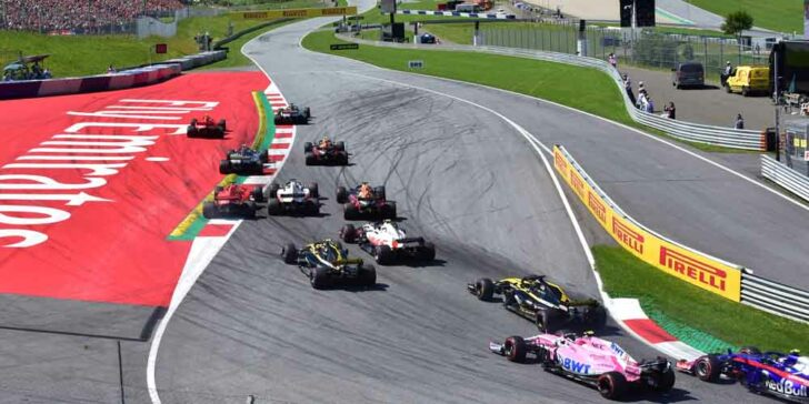 Odds on the 1st retirement in the Austrian grand Prix