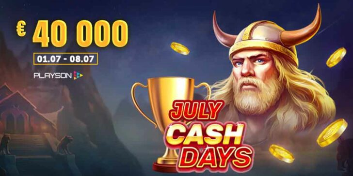 Vbet Casino July CashDays Tournament