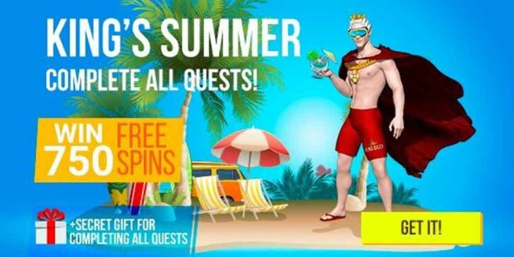 Win Free Spins This Summer