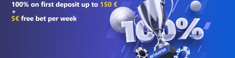 About Betmaster Sportsbook welcome bonus