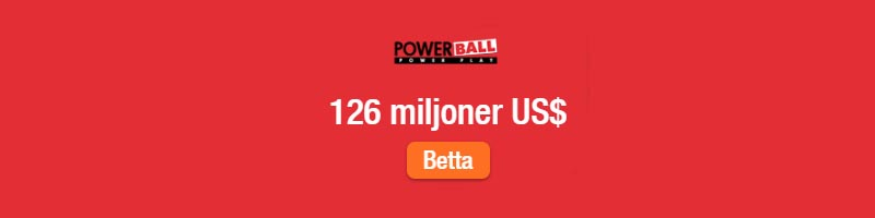 Buy US Powerball tickets online from Sweden