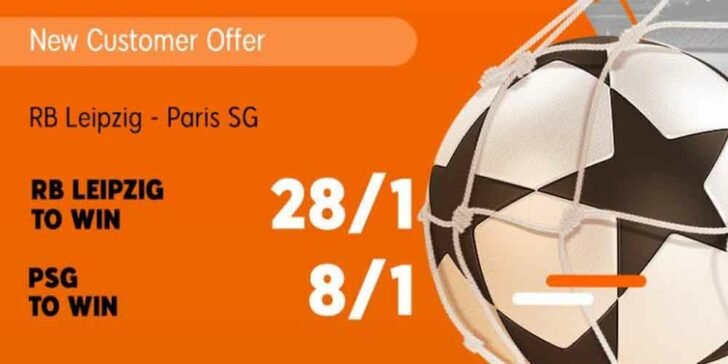 Leipzig v PSG Betting Offer