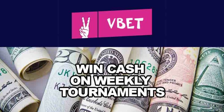 win cash on weekly tournaments
