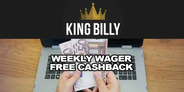 weekly wager free cashback