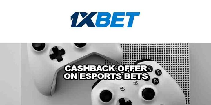 cashback offer on eSports bets