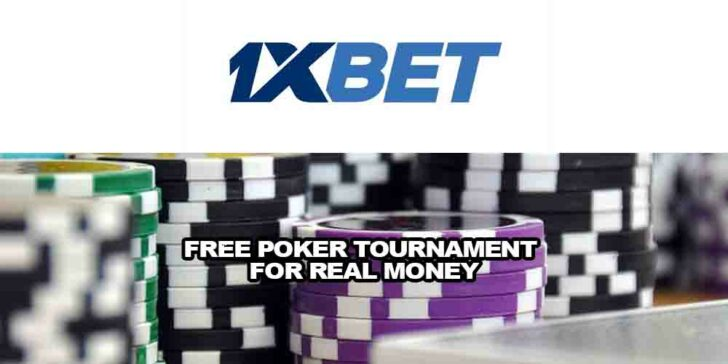 free poker tournament for real money