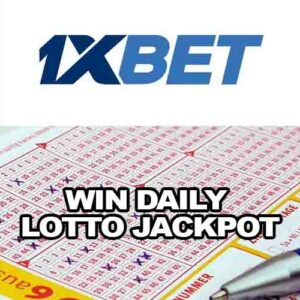 Win Daily Lotto Jackpot at 1xBET Lottery – Take Your Chance, Win Big