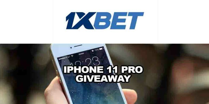 Iphone 11 Pro Giveaway Offer From 1xBET Sportsbook