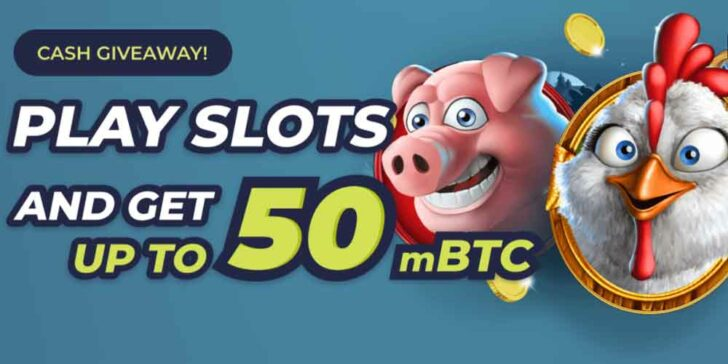Casinoin Casino Cash Giveaway: Play Slots and Win