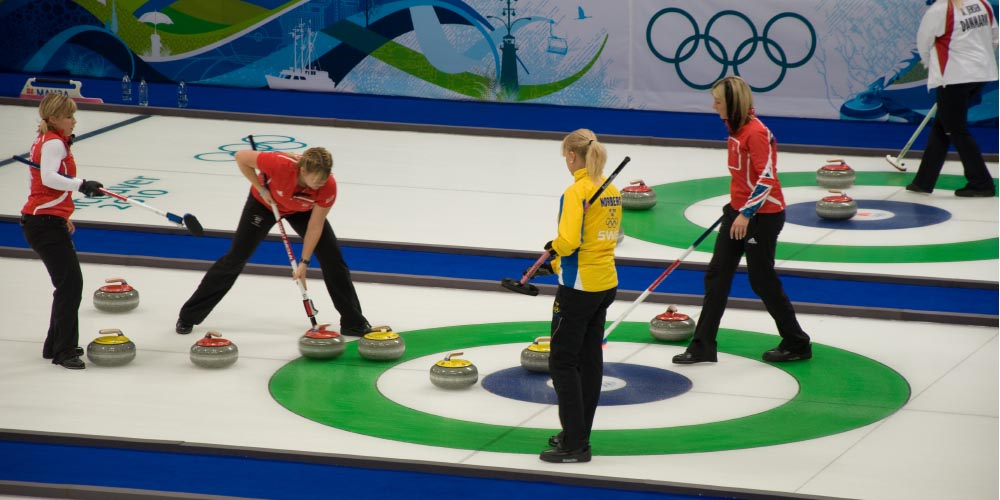Cleaning at the Olympics, curling and other weird winter sports
