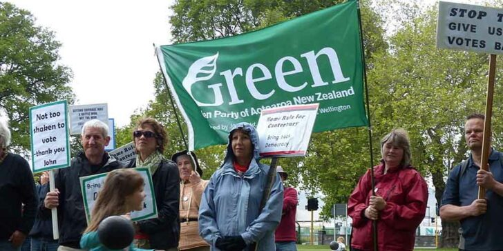 Bet On The Green Party In New Zealand