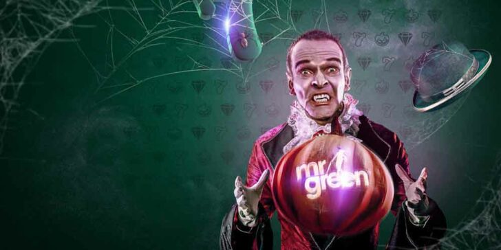 Cash Prizes for Halloween at Mr Green Casino – Win a Share of €10,000