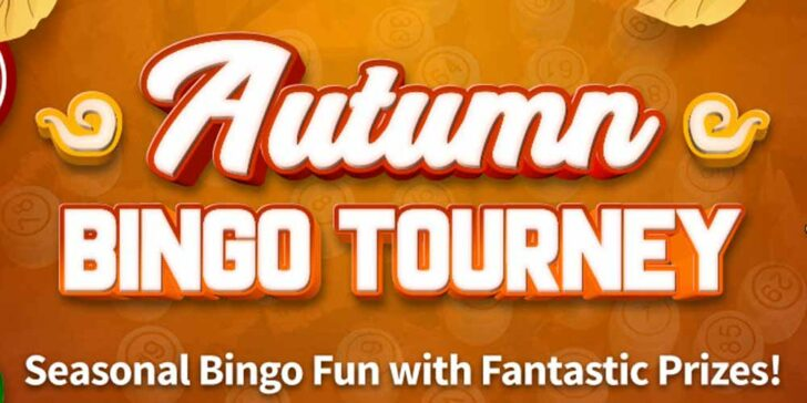 Weekly CyberBingo Prizes in November – $3000 Lucky Haul this Fall