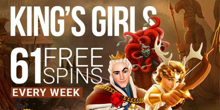 monthly free spins offer