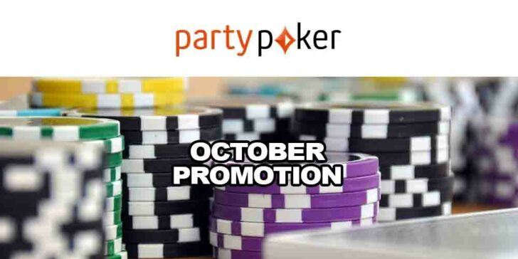 Partypoker October Promotion