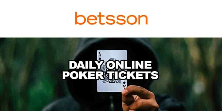 daily online poker tickets