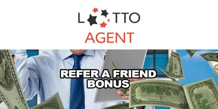 online lotto refer a friend