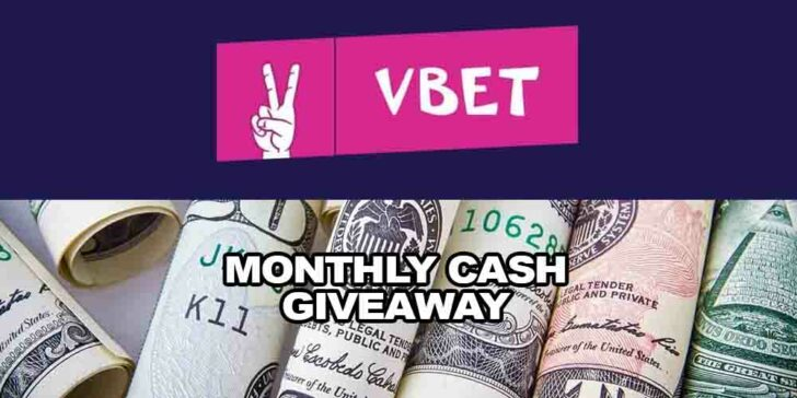 monthly cash giveaway