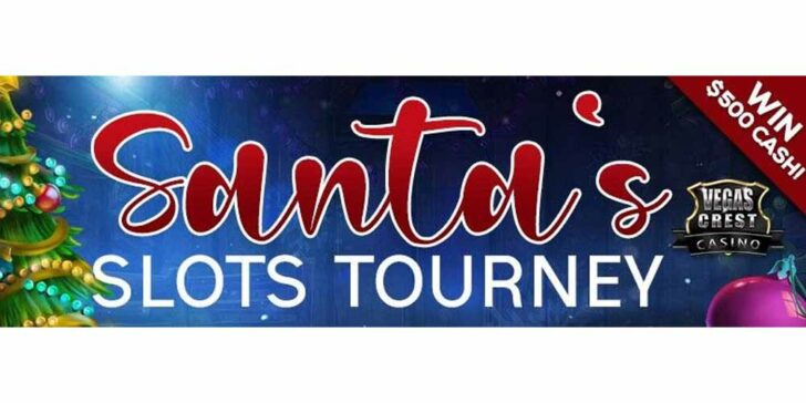 Christmas Tournaments Every Week With Vegas Crest Casino