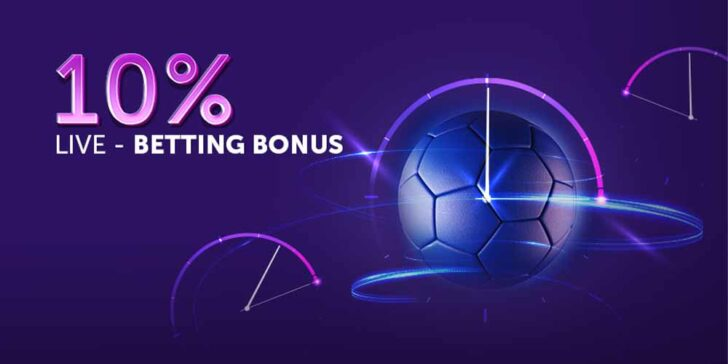 Vbet Sportsbook Live Betting Promotion