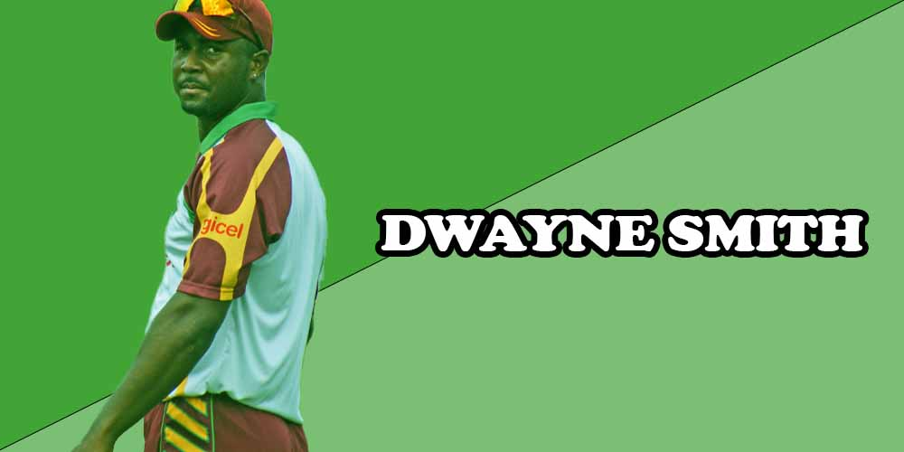 West Indies cricket players DWAYNE SMITH