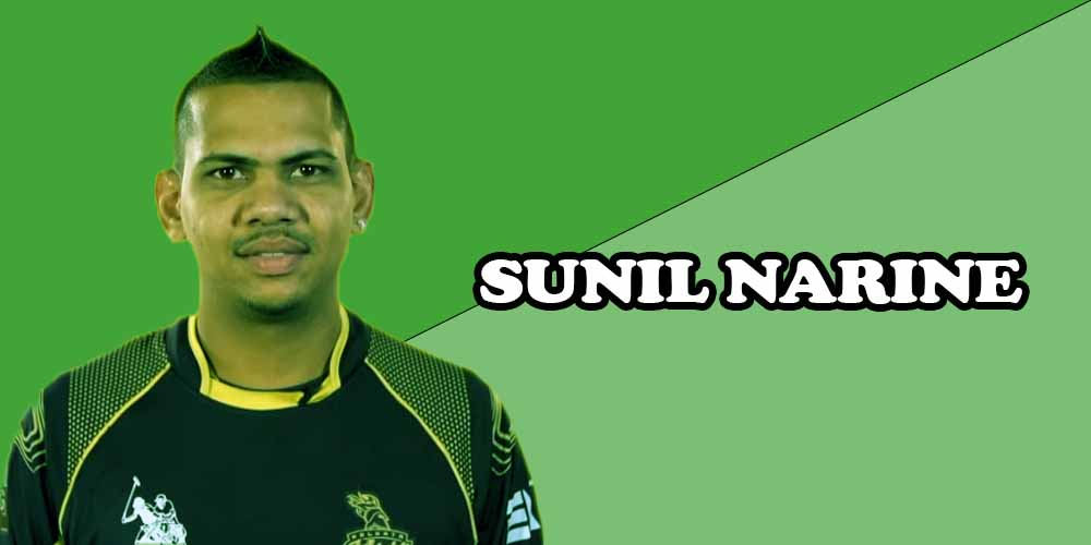 West Indies cricket players SUNIL NARINE