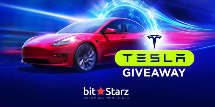Win a Tesla for Christmas with BitStarz Casino Promotion