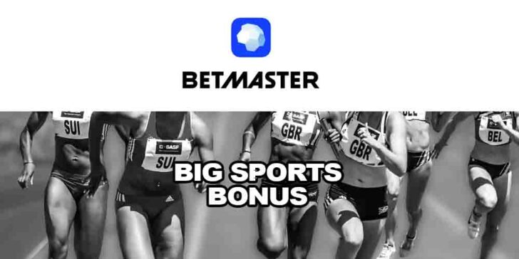 Betmaster Big Sports Bonus