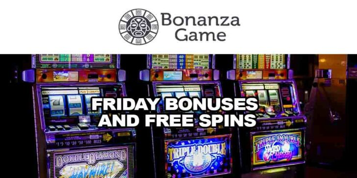 Friday bonuses and free spins