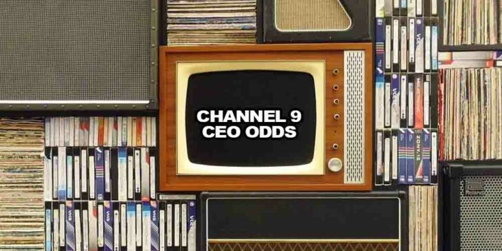 Next Channel 9 CEO odds