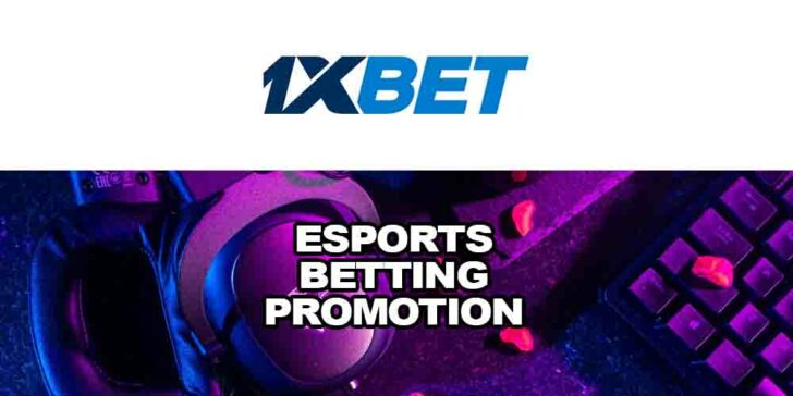 eSports betting promotion