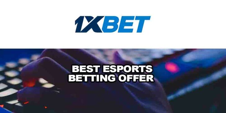 Best eSports betting offer