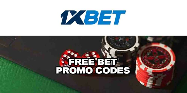 Free Bet Promo Codes at 1xBET Sportsbook: Take Part and Win