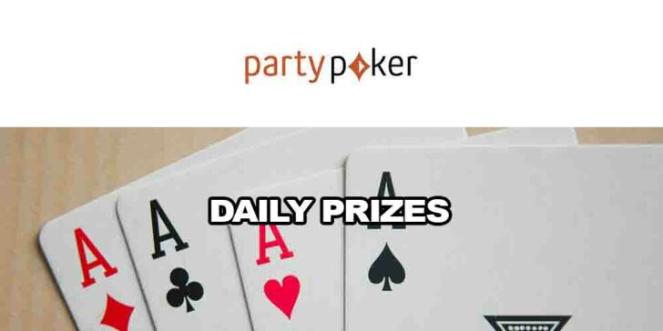 PartyPoker daily prizes
