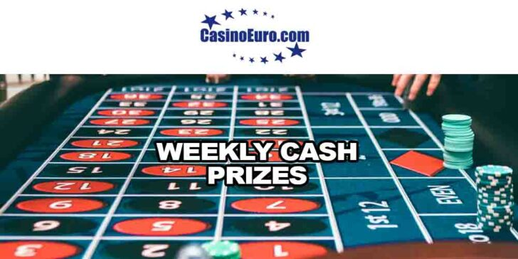 Weekly Cash Prizes
