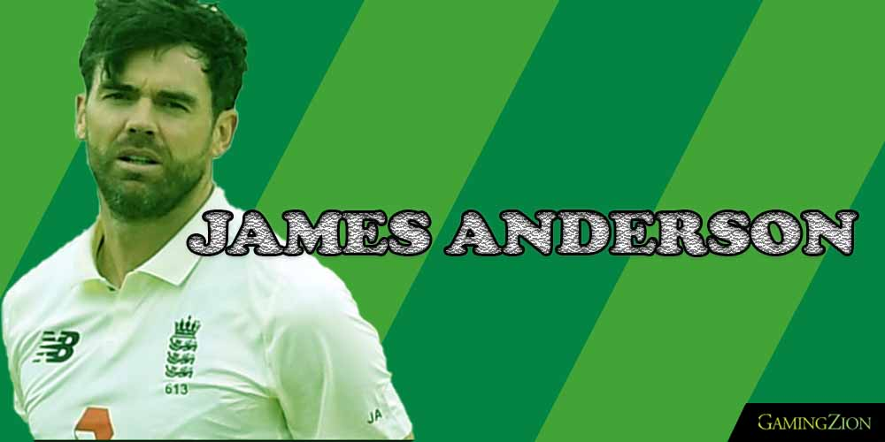 England Cricket Players 01 JAMES ANDERSON