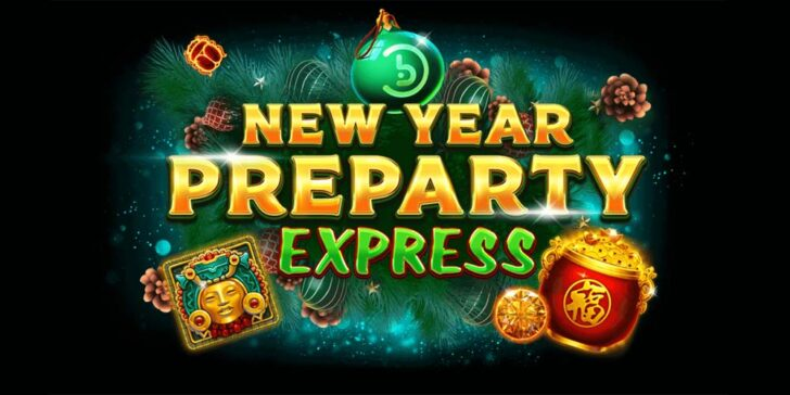 New Year's Preparty Express: Win €50.000  at Casinoin Casino