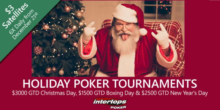 Intertops Poker Christmas tournaments