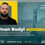 Ukrainian Gaming Week 2021: Head of Ukraine's Gambling Commission Ivan Rudyi will be there with You!