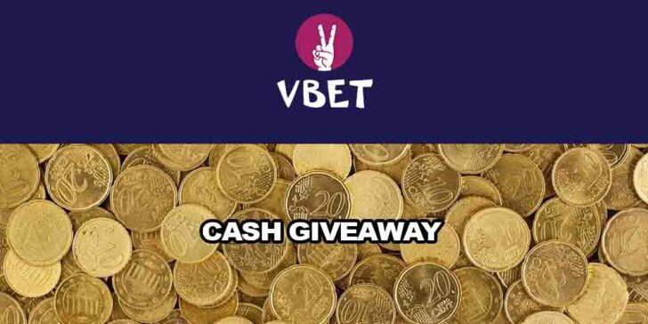 Vbet Casino cash giveaways