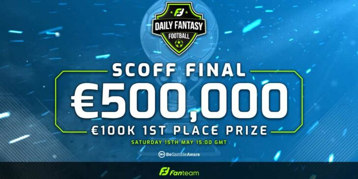 Daily fantasy jackpot tournament