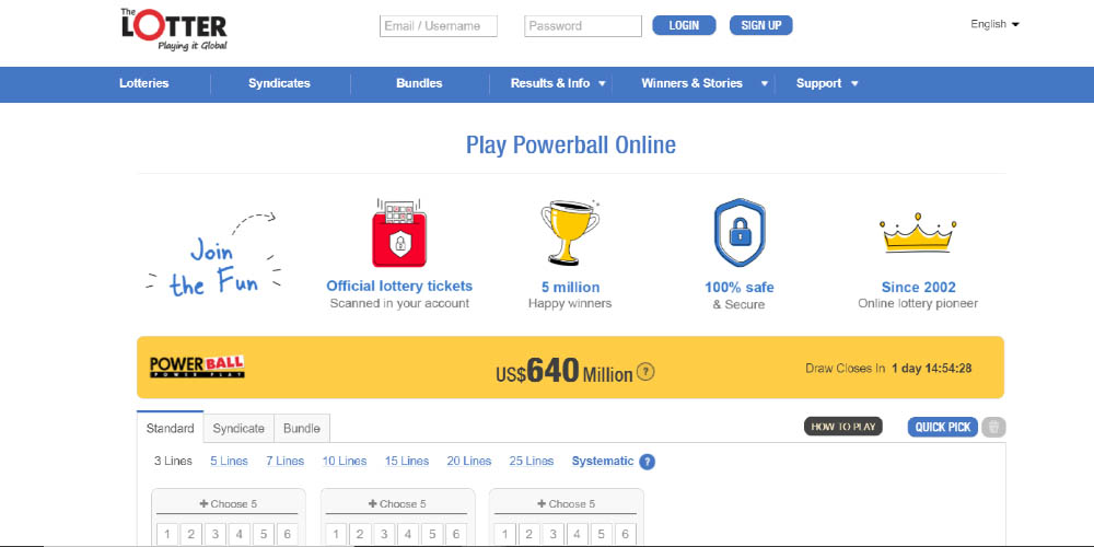 where to play Powerball online, can Powerball tickets be purchased online, sites to buy US Powerball lottery ticket online