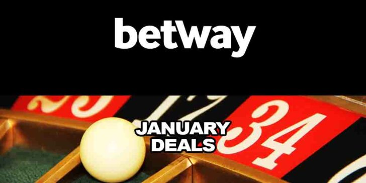 Betway Casino January deals