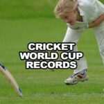 Cricket World Cup Records Throughout The Years