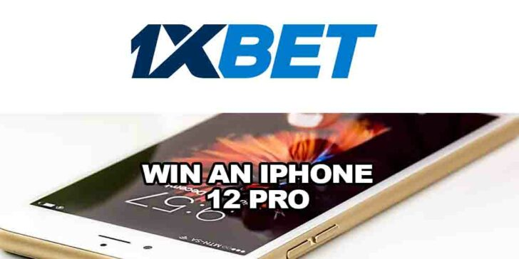 Win an Iphone 12 Pro With 1xBET Casino: Spin the Lucky Wheel